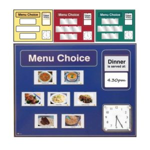 Menu Boards | Dementia Products