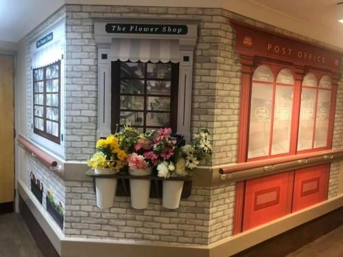 Flower Shop and Post Office