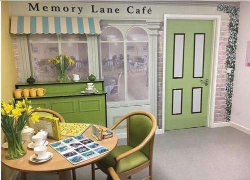 Memory Lane Dementia Cafe and Stall