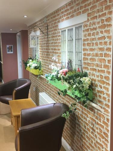 Brickwork and Window Boxes